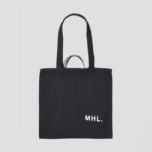 MHL. Shopper Light Cotton Drill Black