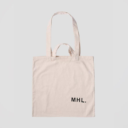 MHL. Shopper Light Cotton Drill Natural