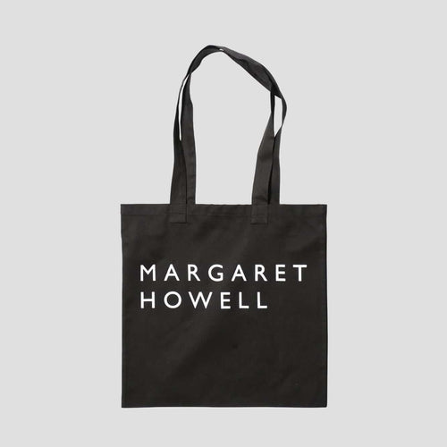 Margaret Howell Logo Tote Bag Black