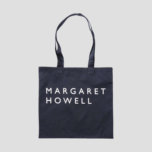 Margaret Howell Logo Tote Bag Navy