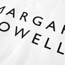 Load image into Gallery viewer, Margaret Howell Logo Tote Bag White
