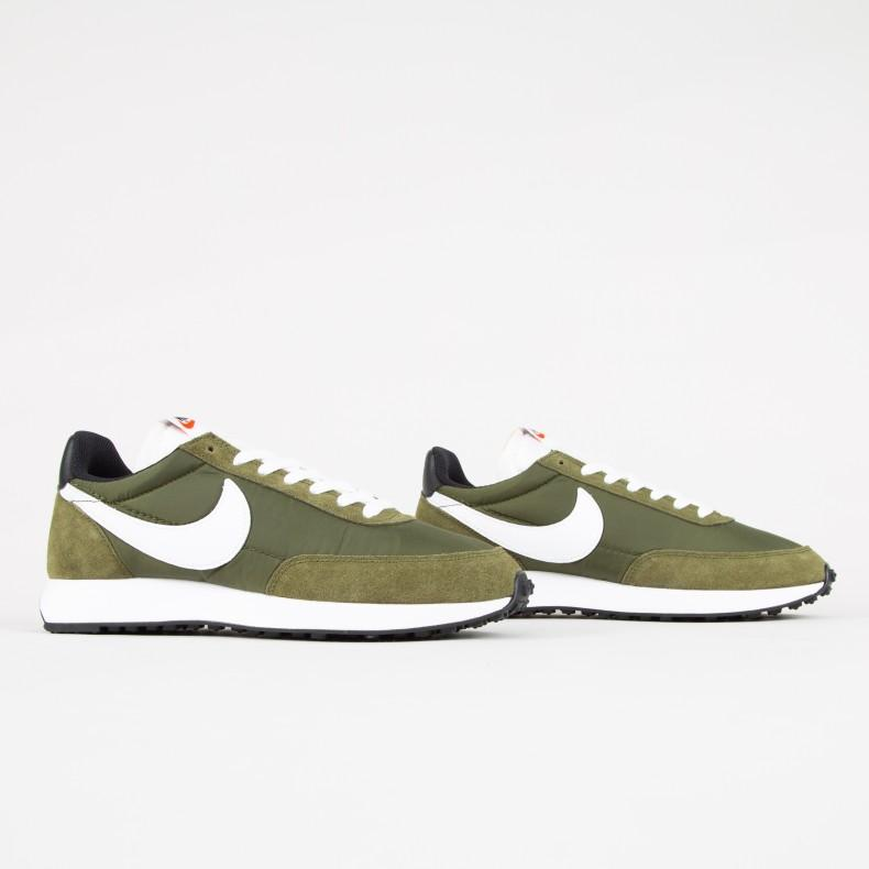 Nike Air Tailwind 79 Shoes - Legion Green/White-Black-Team Orange