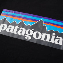 Load image into Gallery viewer, Patagonia P-6 Logo Responsibili-Tee Black