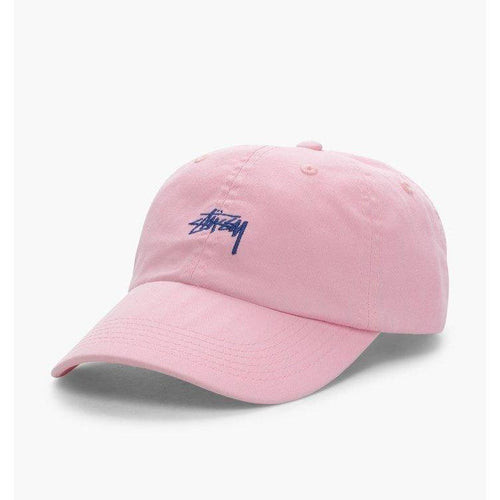 Stussy Stock Low Profile Cap Pink