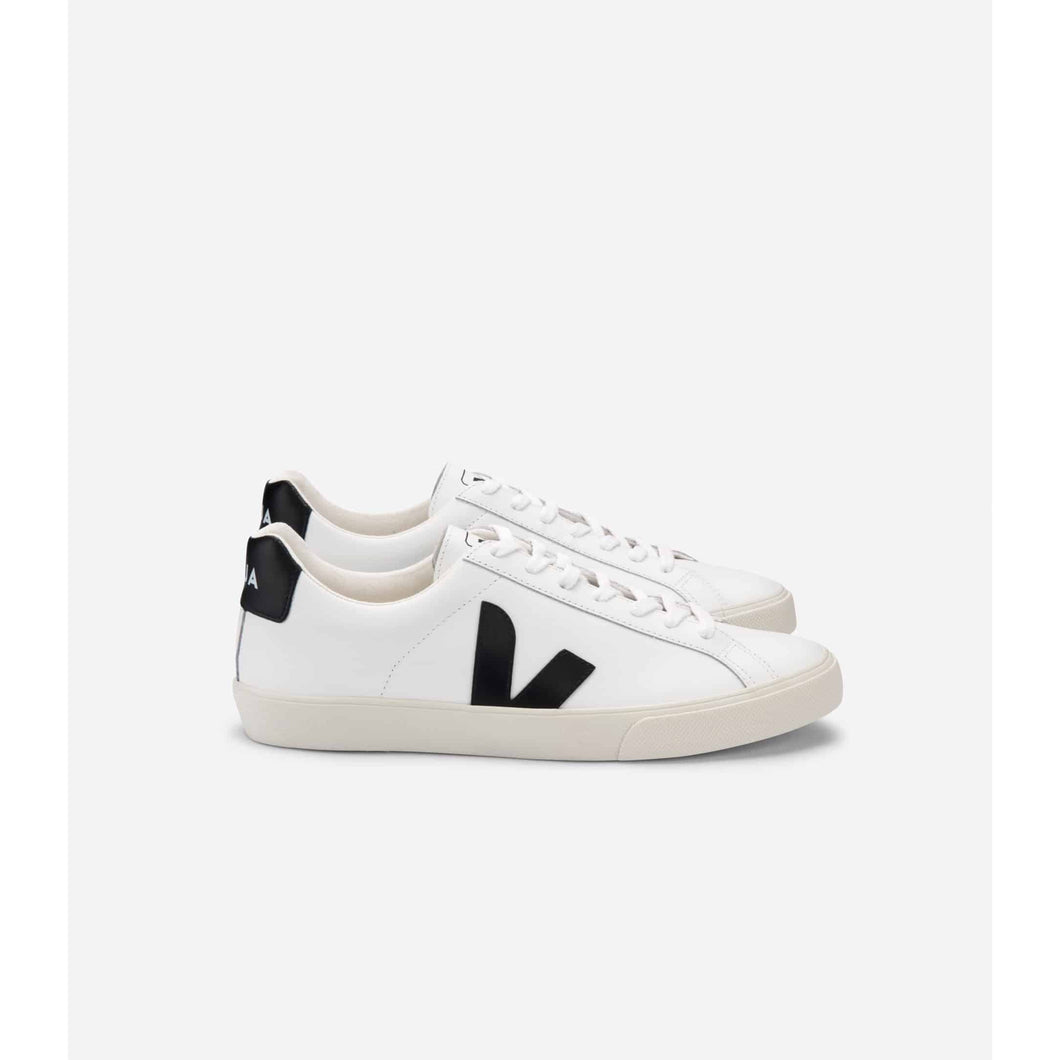 Veja Esplar Leather White Black