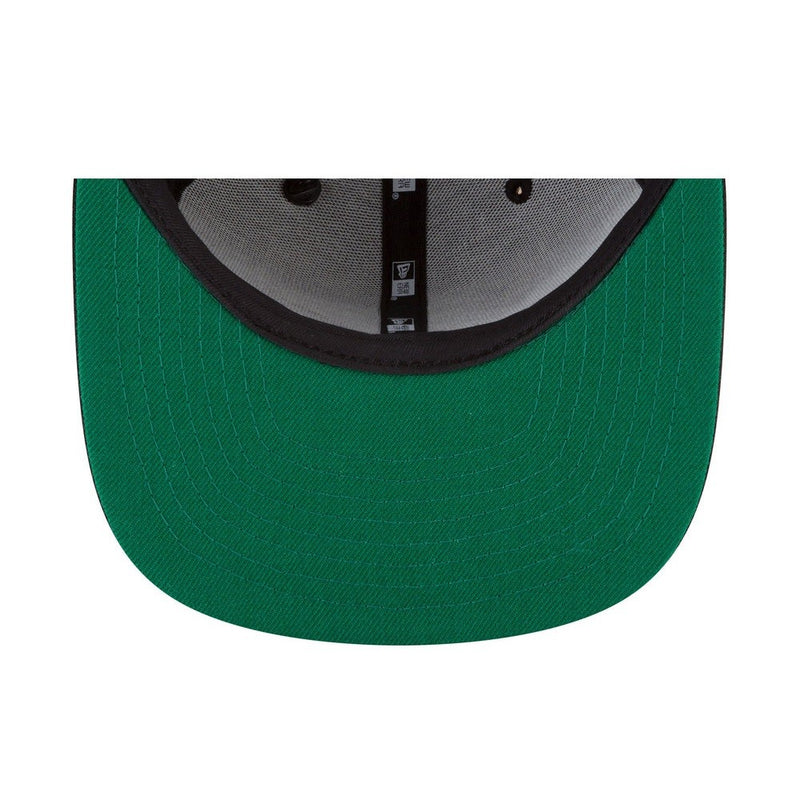 The Crown Original Snapback With Green Undervisor