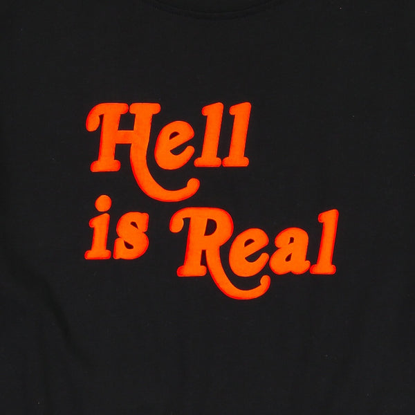 """Hell is Real"" Hoodie in Black"