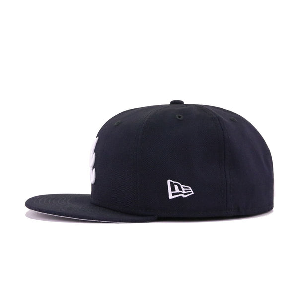 Atlanta Braves Navy New Era 59Fifty Fitted