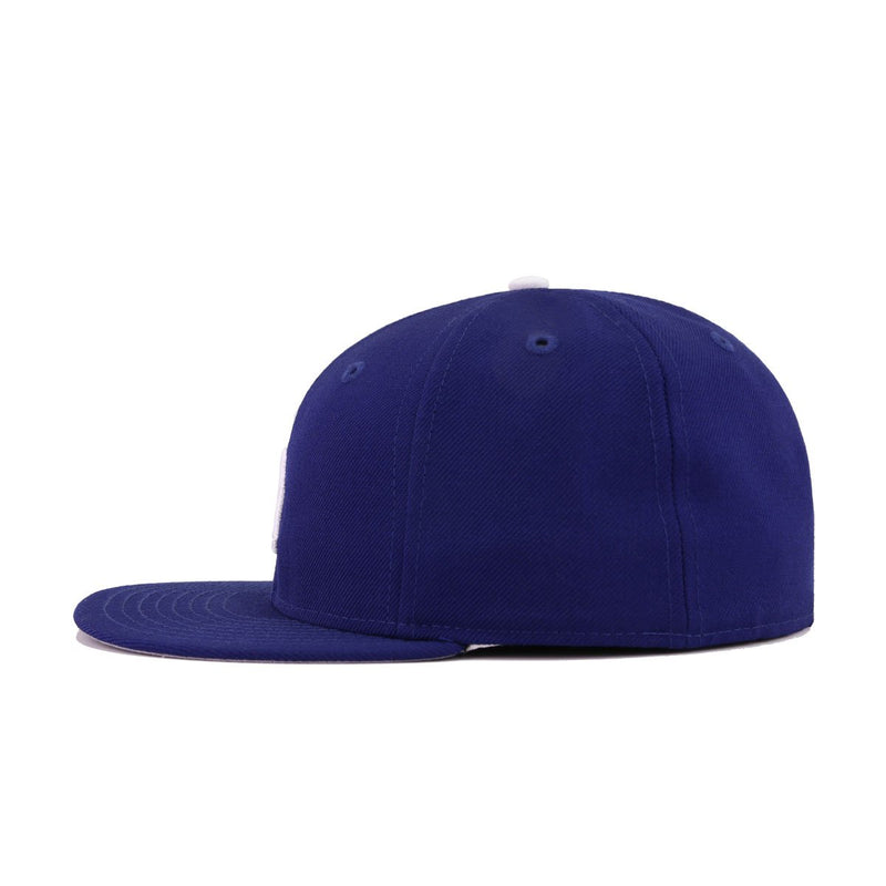 Los Angeles Vintage Dodgers Dark Royal Cooperstown New Era 59Fifty Fitted