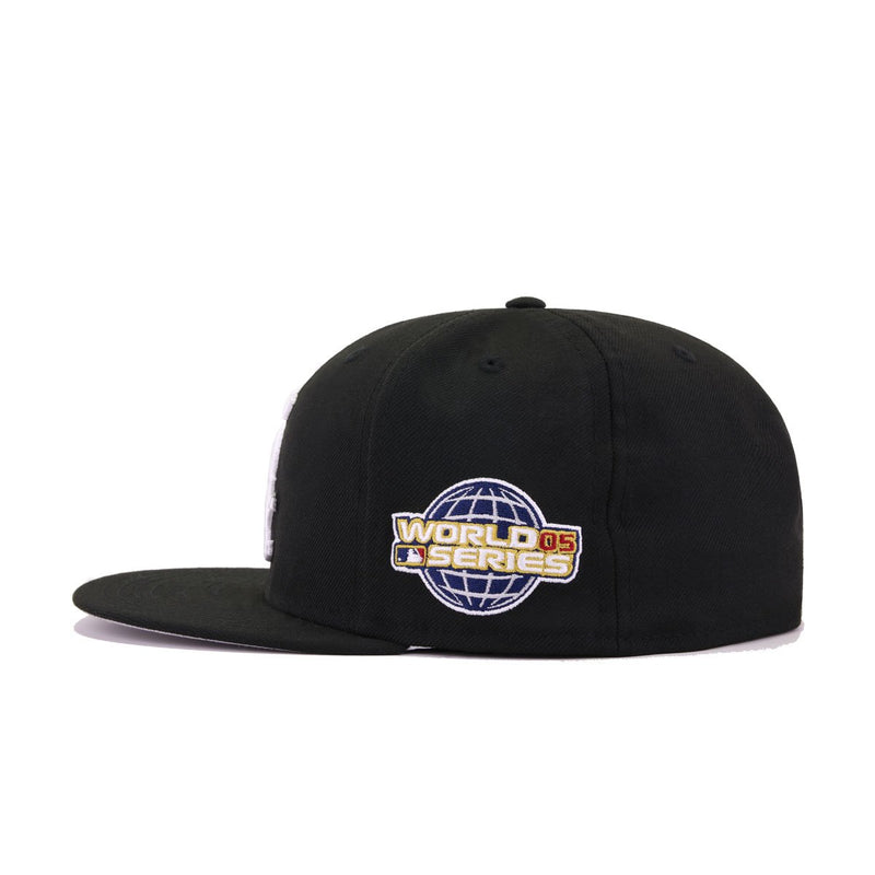 Chicago White Sox Black 2005 World Series Fitted