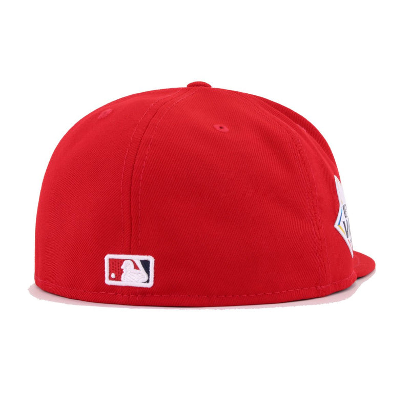 Washington Nationals Scarlet 2019 World Series Authentic Collection New Era 59Fifty Fitted