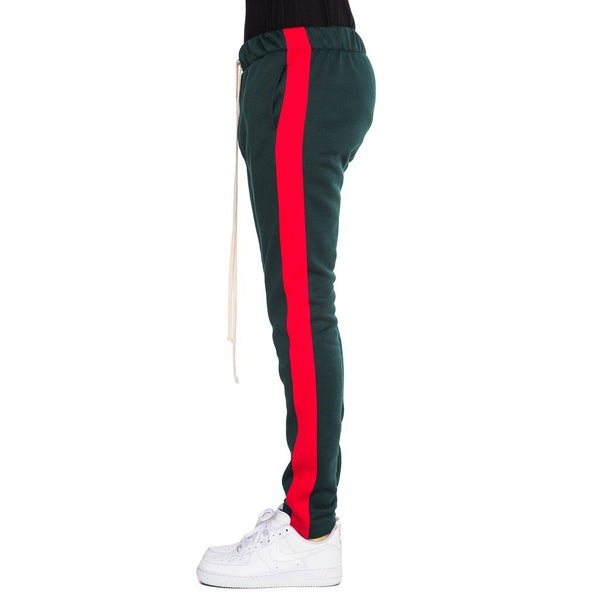 Green Red -Fleece Track Pant
