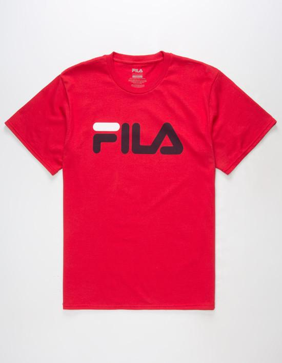 Fila Printed Tee Red