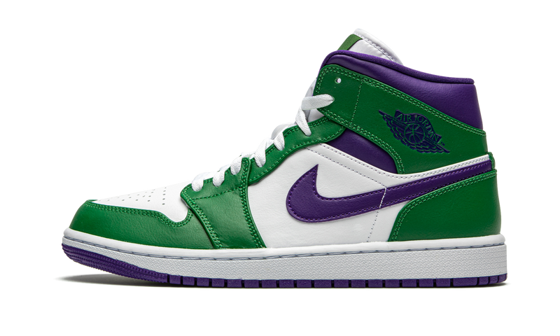 "Air Jordan 1 Mid  ""Aloe Verde/Court Purple"""