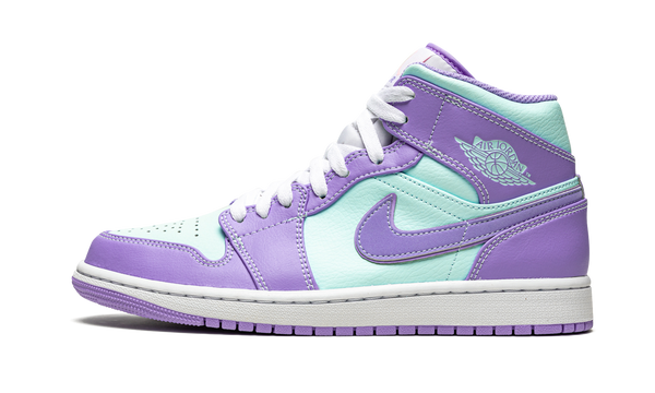 "Air Jordan 1 Mid  ""Purple Pulse / Glacier Blue"""