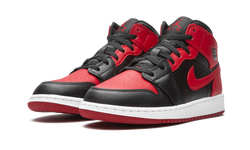 "Air Jordan 1 Mid ""Banned 2020"" (GS)"