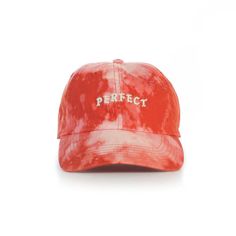 Bleached Orange Dad Cap