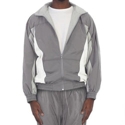 Grey Flight Jacket