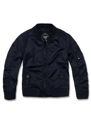 Kids Flight Jacket Navy
