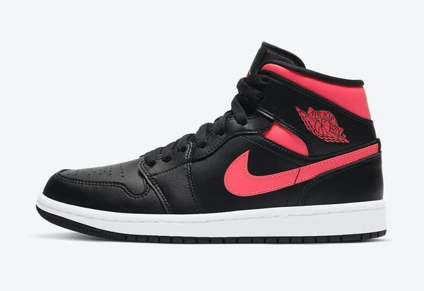 "Wmns Air Jordan 1 Mid""Siren Red"""