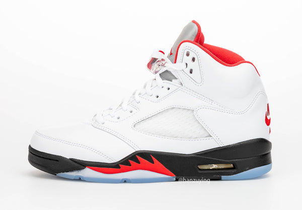 "Air Jordan 5 ""Fire Red"" 3M"