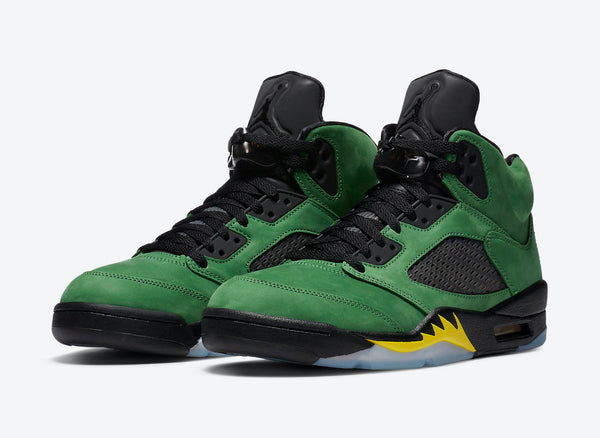 "Air Jordan 5 ""Oregon Ducks"" 3M"