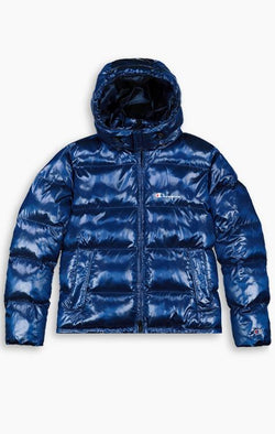 Detachable Hood Puffer Jacket