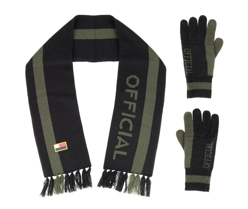 Official Headwear Scarf/Gloves set