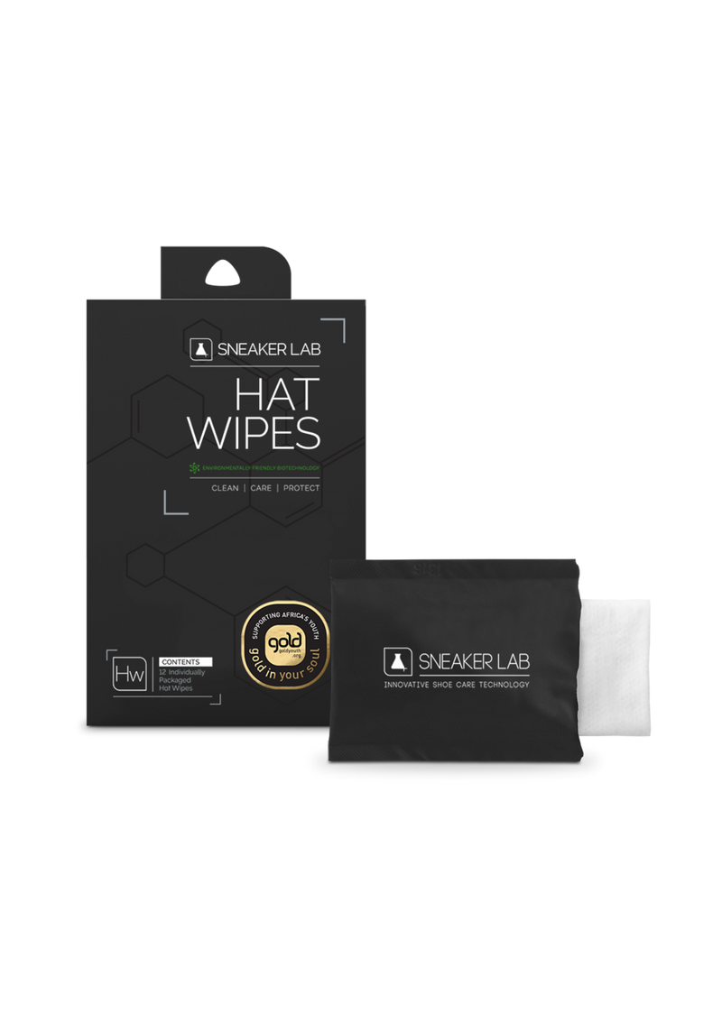 Hat Cleaner Wipes - 12 Pack