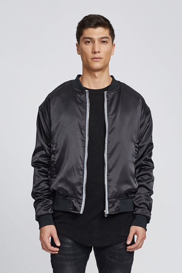 Satin Essential Bomber