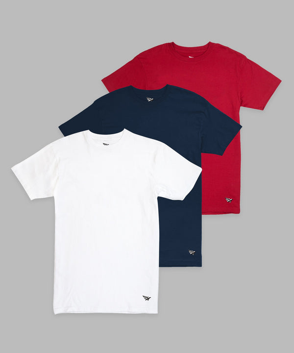 AMERICAN DREAM ESSENTIAL 3 PACK TEES