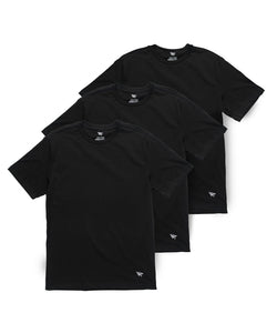 Essential 3 Pack Tees Black