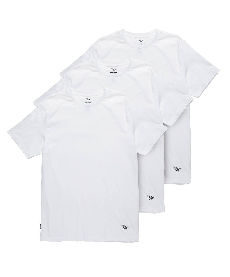 Essential 3 Pack Tees White