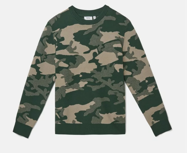 Anwar Camo Knitted Sweater