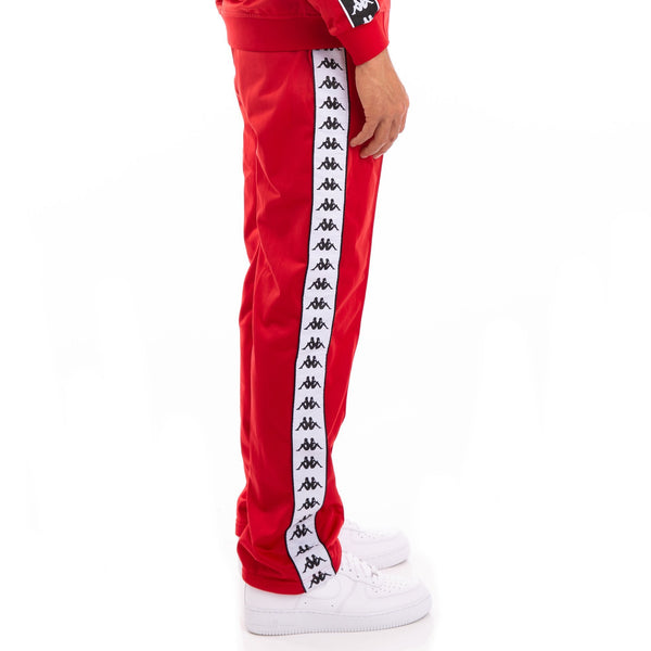 222 Banda Astoriazz Alternating Banda Red Black White Trackpants