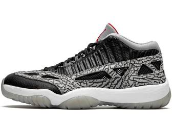 "Air Jordan 11 Retro Low IE ""Black Cement"""