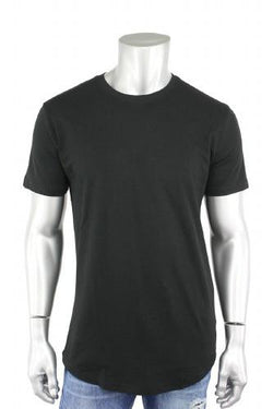 Elongated Tee Black