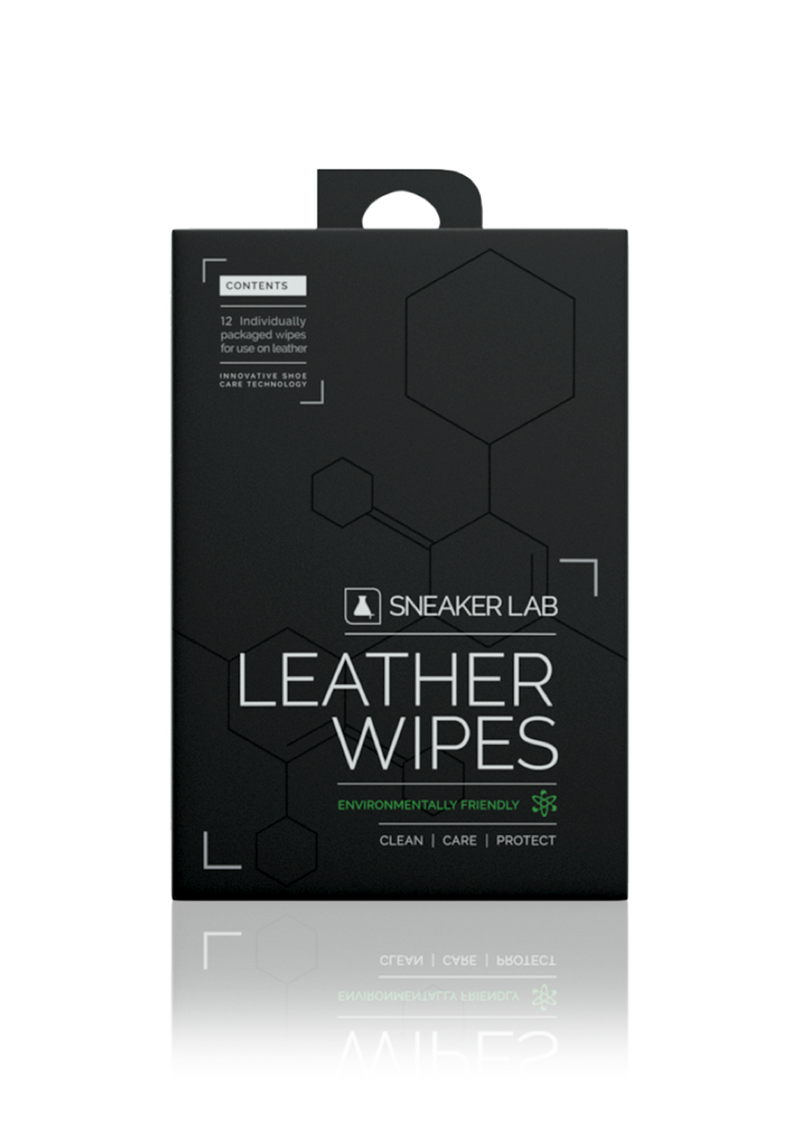 Leather Sneaker Wipes - 12 PACK