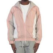 Dusty Pink Flight Jacket