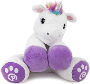 """Poppy"" Stuffed Unicorn Toy 34"" Tall"