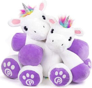 """Poppy"" Stuffed Unicorn Toy 44"" Tall"