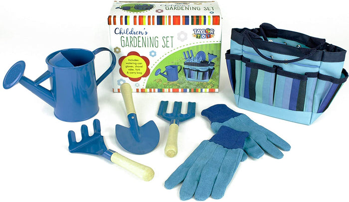 Kids Gardening Tool Set-Blue