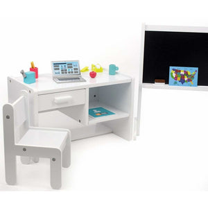 18 Inch Doll Furniture - Complete Classroom Set