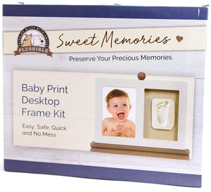 Plushible Baby Casting Kit - Gift Registry and Baby Shower Gift (desktwo/cast)