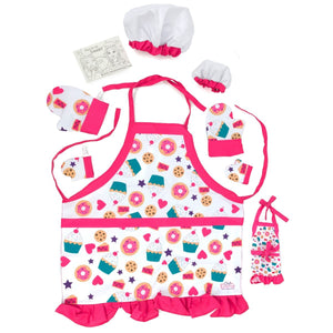 Eimmie 18 Inch Doll Clothing - Baking Playtime Set