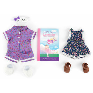 Eimmie Club Eimmie 18 Inch Doll Clothing Playtime Packs - Doll Accessories, Doll Shoes, and Doll Clothes - Trendy Romper Doll Outfit