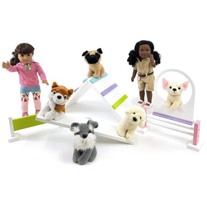 Eimmie Dog Training Agility Set for 18 inch Dolls