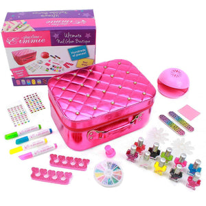 Eimmie Nail Set Playtime by Eimmie Ultimate Nail Glam Boutique - Girl Nail Polish Set - Nail Art for Kids Ages 8 and Up