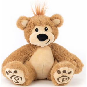 "Plushible.com ""Pawley"" the 10"" Signature Bear by Plushible"