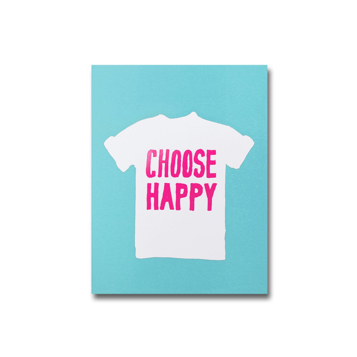 WOW Choose Happy A6 Notebook